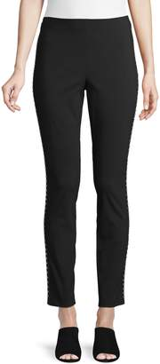 INC International Concepts Studded Mid-Rise Skinny Pants