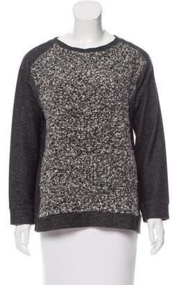 By Malene Birger Wool Bouclé Paneled Top