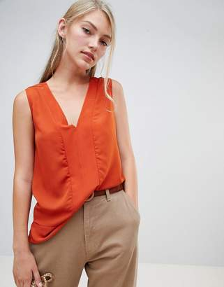 French Connection Classic Crepe V-Neck Top