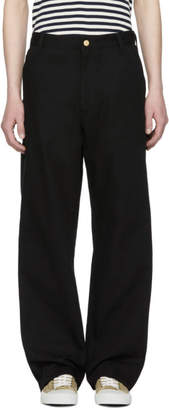 Junya Watanabe Black Carhartt Edition Canvas Trousers