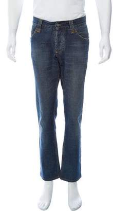 Dolce & Gabbana Distressed Five-Pocket Jeans
