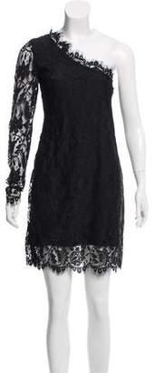 Pierre Balmain Lace One-Shoulder Dress