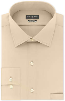 Van Heusen Men Big and Tall Classic-Fit Wrinkle Free Flex Collar Stretch Solid Dress Shirt