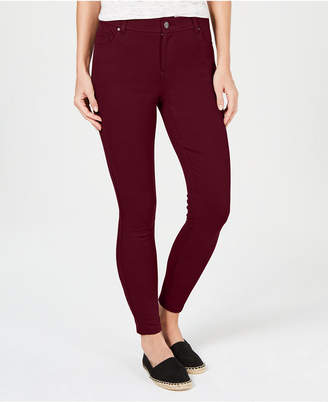 Style&Co. Style & Co Ultra-Skinny Ponte-Knit Pants, Created for Macy's