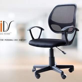 IDSOnlineCorp Home Ergonomic Adjustable Low-Back Mesh Desk Chair