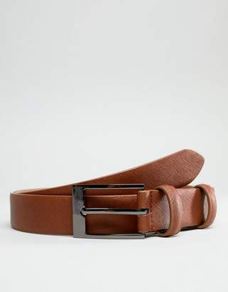 Smith And Canova Skinny Leather Belt