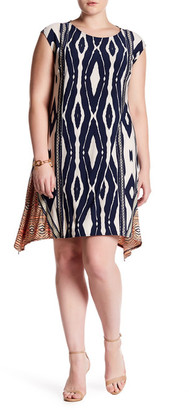 London Times Animal Swing Dress (Plus Size) $128 thestylecure.com