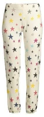 Monrow Multicolor Stars Sweatpants