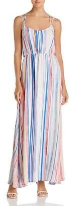 BB Dakota Mally Striped Maxi Dress