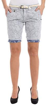... Timezone Women's Shorts Blue Blau (Blue Reverse Paisley 3901) 6