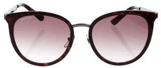 Gucci Tortoiseshell Gradient Sunglasses w/ Tags