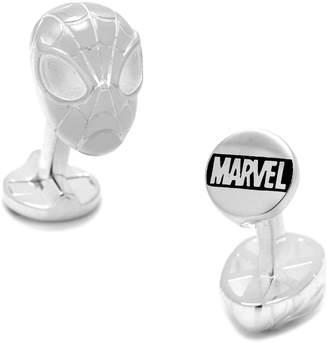 Cufflinks Inc. Spiderman Sterling Silver Cuff Links