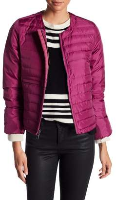 Elizabeth Roberts Solid Puff Bomber Jacket $395 thestylecure.com
