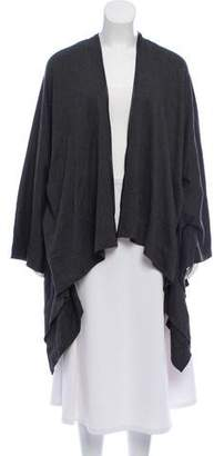 Yigal Azrouel Cut25 by Oversized Faux-Leather Accented Shrug