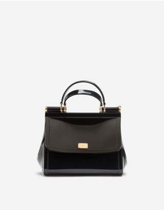 Dolce & Gabbana Small Sicily Bag In Rubber