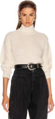 Alberta Ferretti Chunky Sweater in White | FWRD