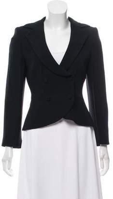 Giorgio Armani Silk Cropped Jacket