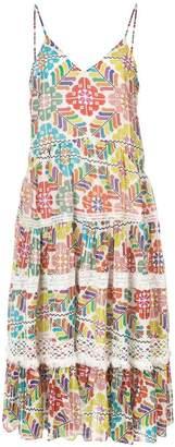 Carolina K. floral print tiered dress