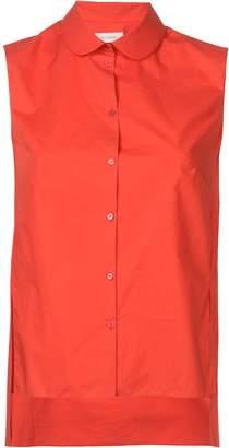 DELPOZO asymmetrical sleeveless shirt