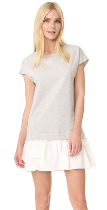 Boutique Moschino Short Sleeve Dress $550 thestylecure.com