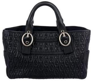 Celine Vintage Quilted Leather Boogie Bag
