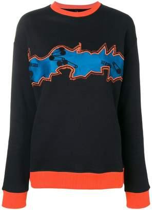 Versus embroidered sweatshirt