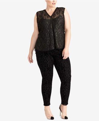 Rachel Roy Plus Size Lace Top