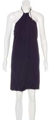 CNC Costume National One-Shoulder Mini Dress