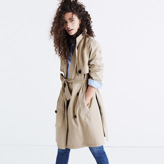 Abroad Trench Coat $138 thestylecure.com