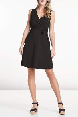 Co Toad & Sleeveless Wrap Dress