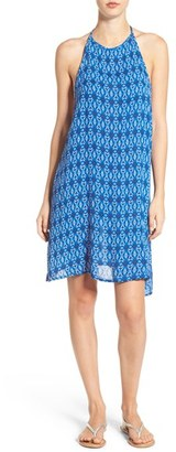 Roxy 'Sand Roast' Geometric Print Woven Halter Dress $36.50 thestylecure.com