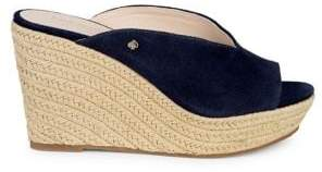 Kate Spade Thea Suede Espadrille Wedged Sandals