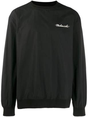 MHI embroidered sweater