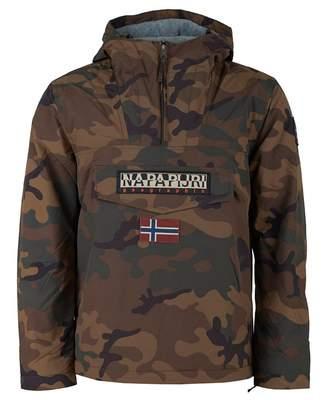 Napapijri Rainforest Winter Camo Pullover Jacket
