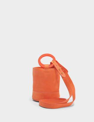 Simon Miller S801S Bonsai 15 cm Bag with Strap in Mango Smooth Nubuck