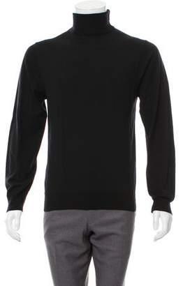 Maison Margiela Virgin Wool Turtleneck Sweater