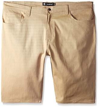 Akademiks Men's Big-Tall Big and Tall Shady Stretch Shorts