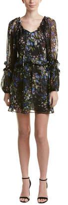 Parker Nicole Silk Shift Dress