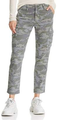Hudson Printed Cargo Jeans in Surplus Camo