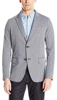 Armani Jeans Men's Slim Fit Stretch Cotton Blazer
