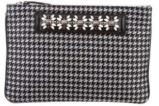 Pre Owned At Therealreal Dannijo Embellished Zip Clutch