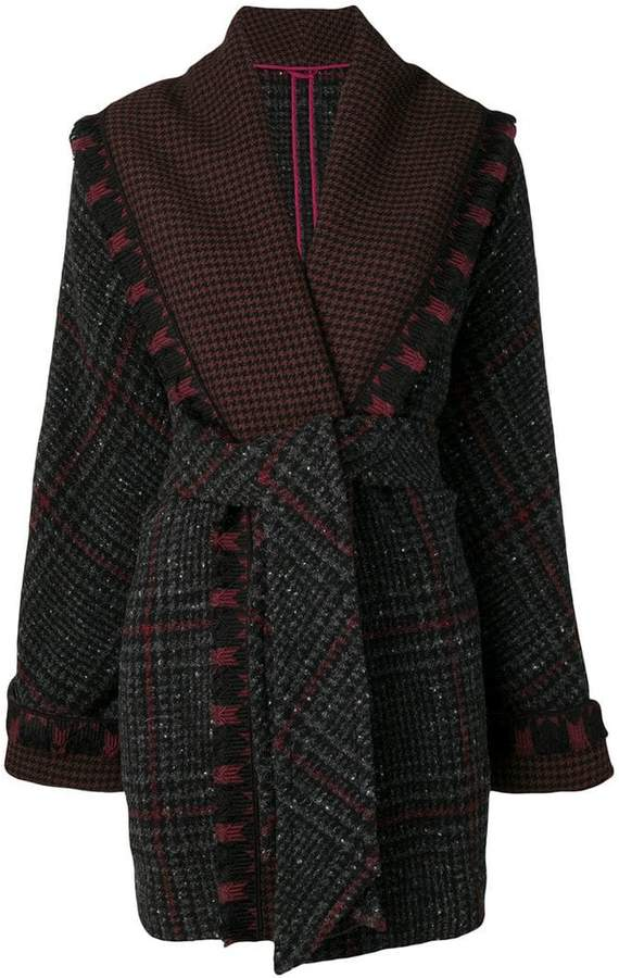 belted cardi-coat