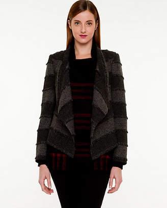 Le Château Tweed Open-front Blazer
