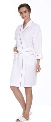 Lavenderi Women's Waffle Robe for Wedding or Spa or Home