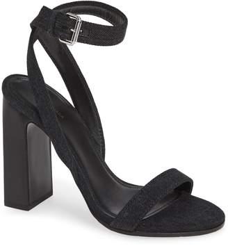 Balenciaga Wraparound Denim Sandal