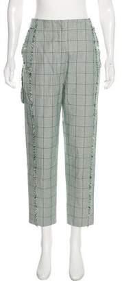 Thom Browne High-Rise Plaid Pants