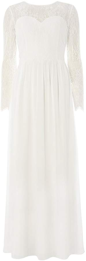 Showcase **White Rosaline Maxi Dress