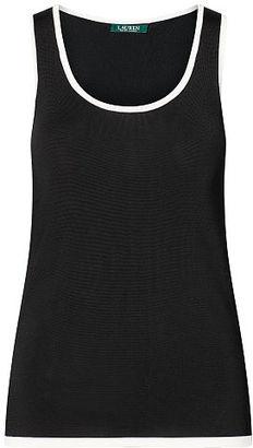 Ralph Lauren Sleeveless Sweater $99.50 thestylecure.com