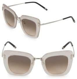 Boucheron 47MM Square Sunglasses