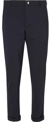 Prada Tela Slim-Fit Stretch-Virgin Wool Trousers
